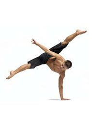 Acrobatics for dancer classes