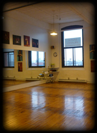 Location de studio de danse